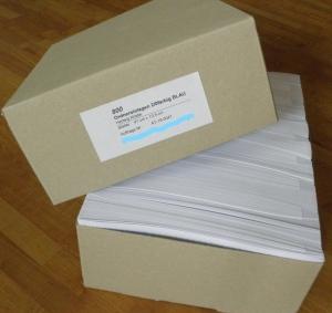 ORDNER-EINLAGEN | Günstige Großpackung mit 800 Stk/Farbe